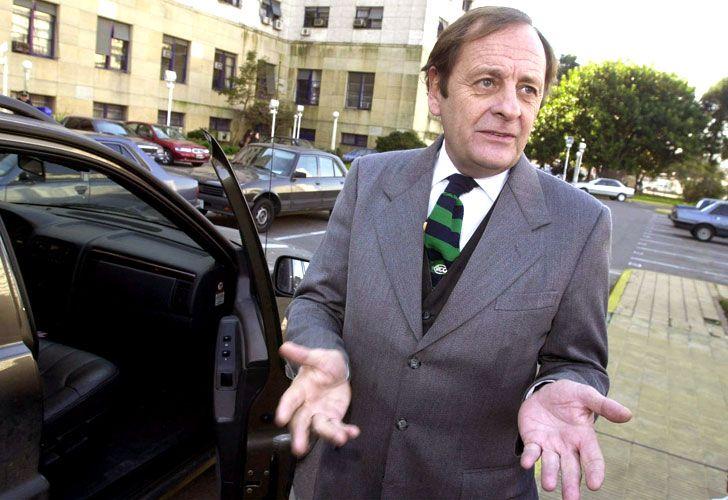 El juez Rodolfo Canicoba Corral.