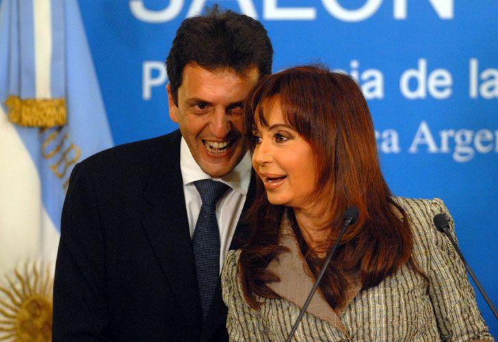 CFK y Massa