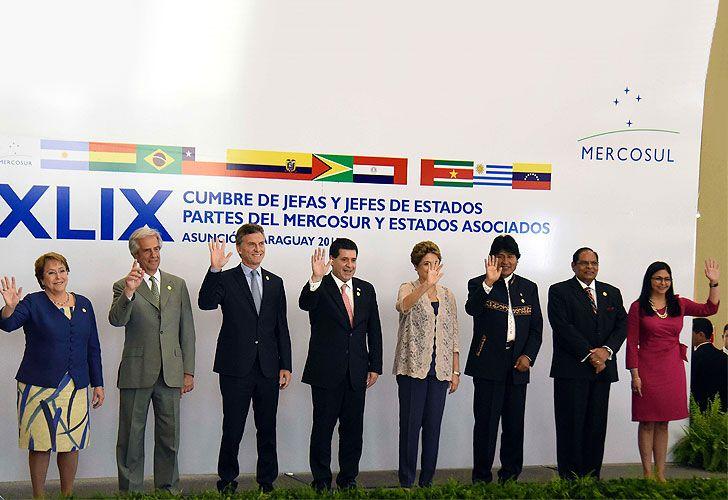 49ª Cumbre de Jefas y Jefes de Estado del Mercado Común del Sur (Mercosur), 21 de diciembre de 2015.