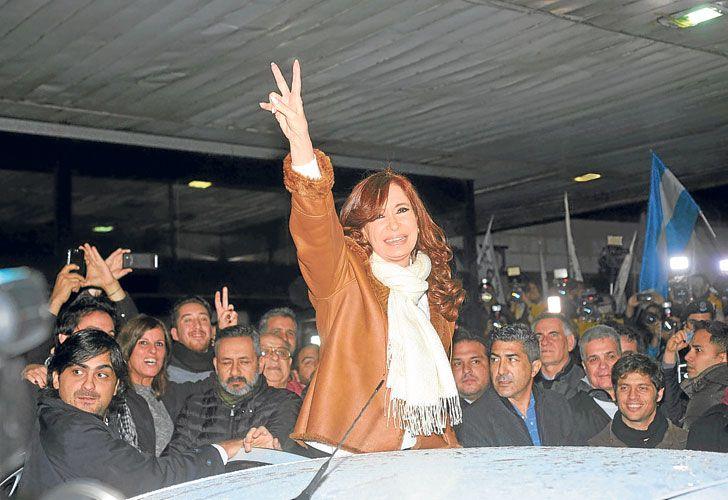 Construccion. La ex jefa de Estado intensificó su actividad política en el Conurbano bonaerense.