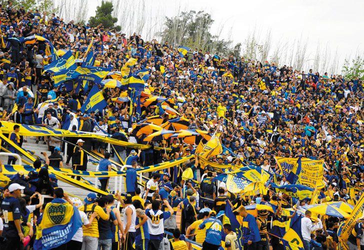 Coparon Mendoza. El domingo pasado, ante Godoy Cruz, pudieron entrar los hinchas de Boca. Todo porque al local le convenía.