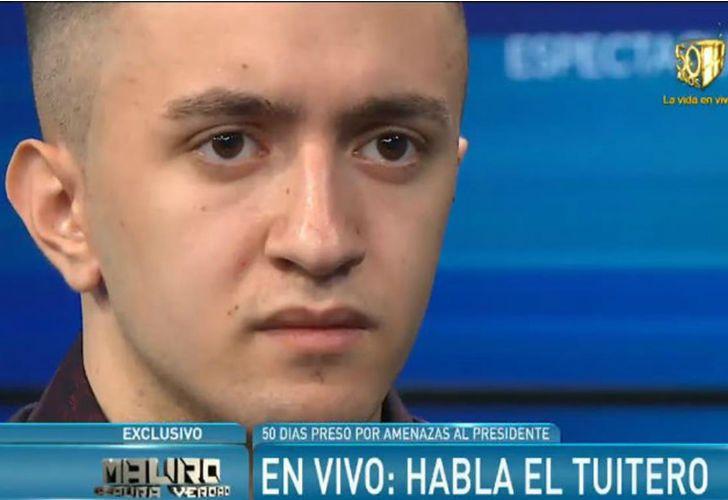 Miguel de Paola, el joven que estuvo preso por amenazar a Macri.