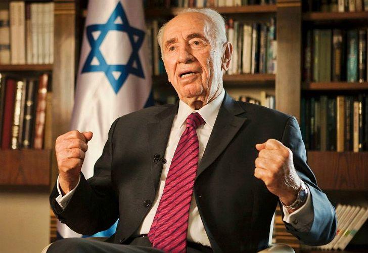 Shimon Peres, ex primer ministro de Israel.