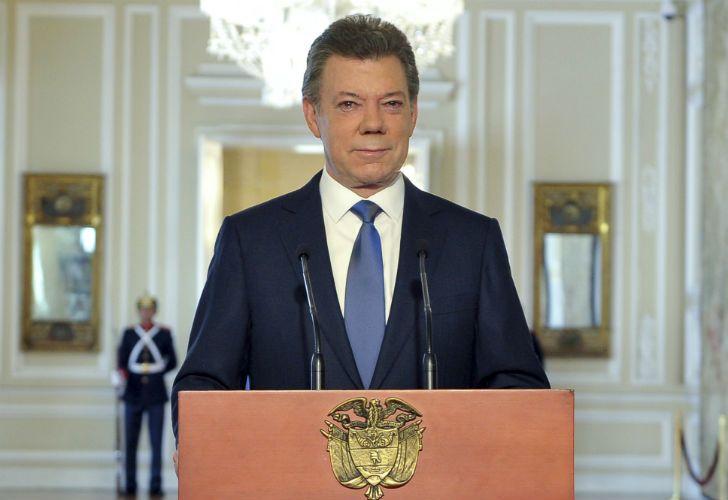 Juan Manuel Santos envió un mensaje conciliador a Colombia luego del