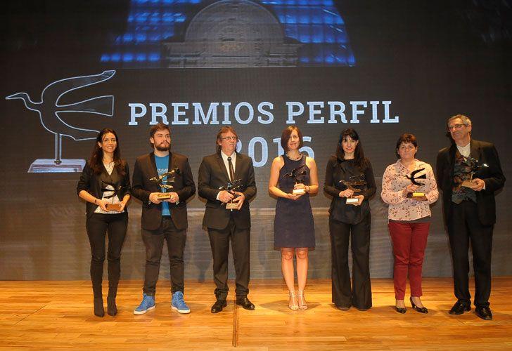 Los ganadores del Premio Perfil 2016