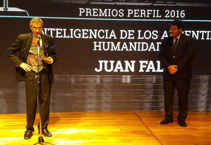 El guitarrista Juan Falú ganó el premio PERFIL a la Inteligencia de los argentinos en el rubro Humanidades.