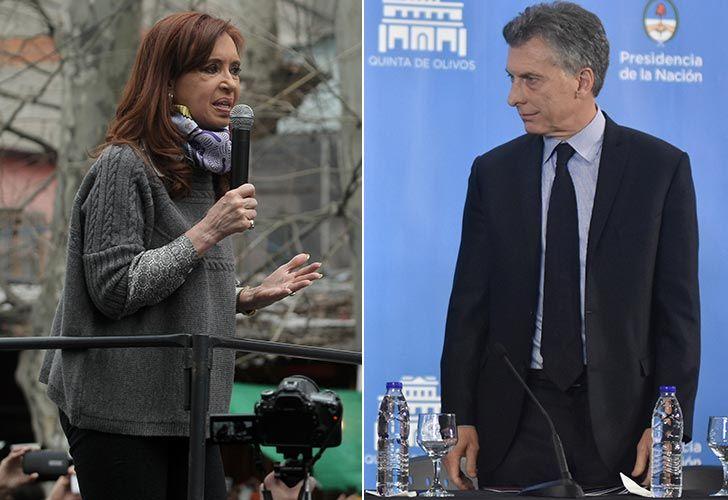 CFK y Macri