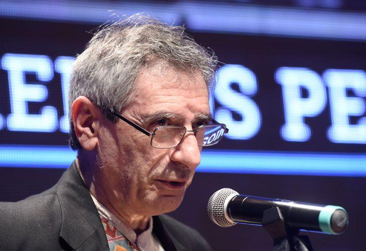 Juan Falú en los Premios Perfil 2016