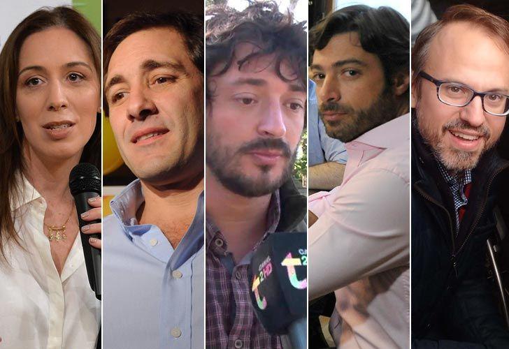 Vidal, Salvai, Garro, Yeza y Valenzuela.