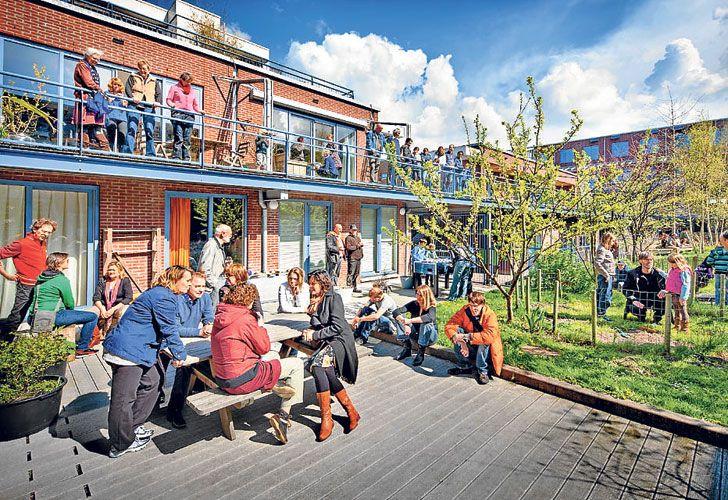 NORUEGA. En algunos países de Europa se multiplican los barrios con espacios compartidos. Los países escandinavos se convirtieron en pioneros.