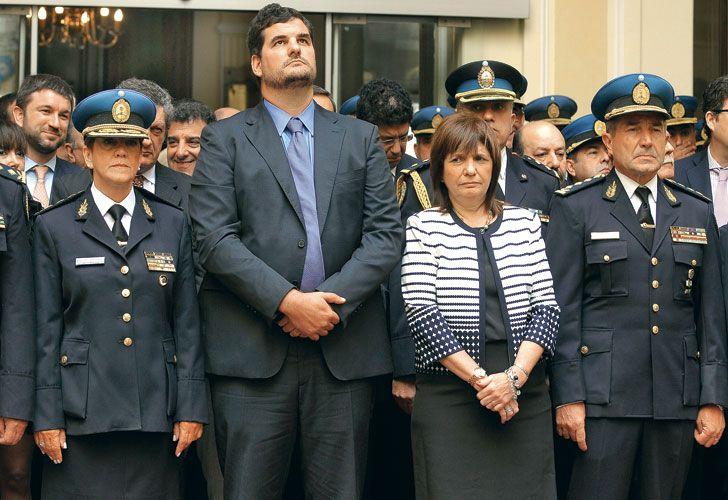 Anuncio. Rodríguez Larreta presentó el miércoles el envío de un proyecto a la Legislatura para crear la Policía de la Ciudad, que unifica a la Metropolitana con los que vienen de la Federal. Entre los jefes de las comisarías hay