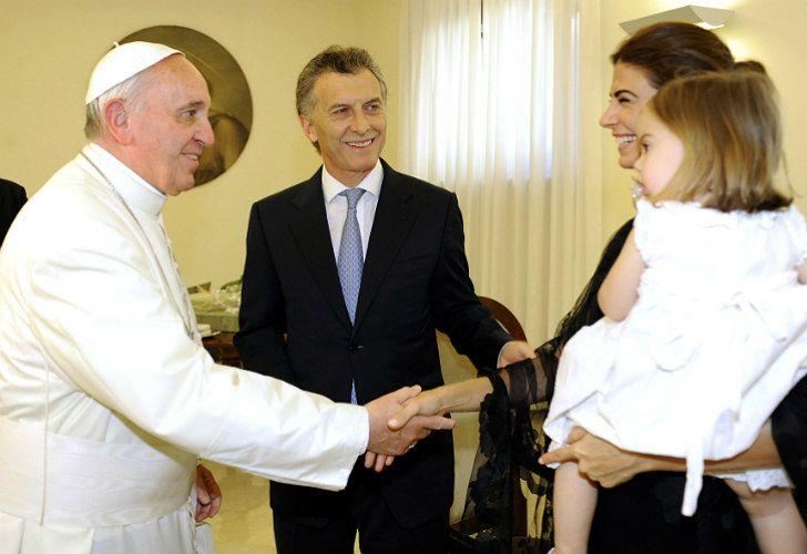 El Presidente Mauricio Macri viajará el jueves a Roma para visitar al Papa Francisco.