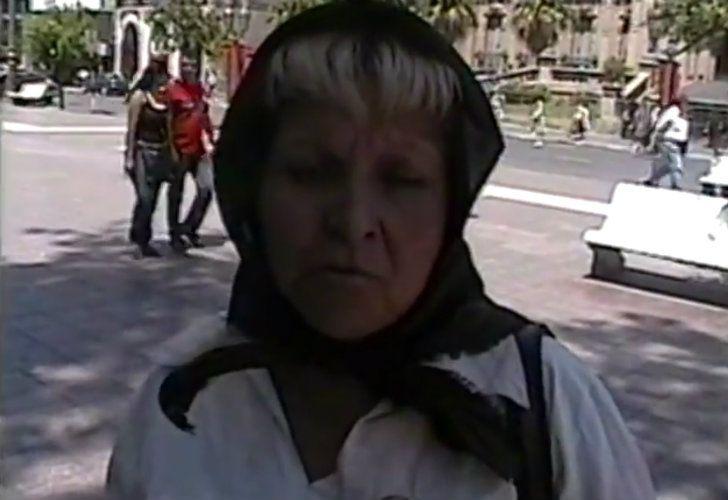 Elsa Juárez, de Madres del Pañuelo Negro