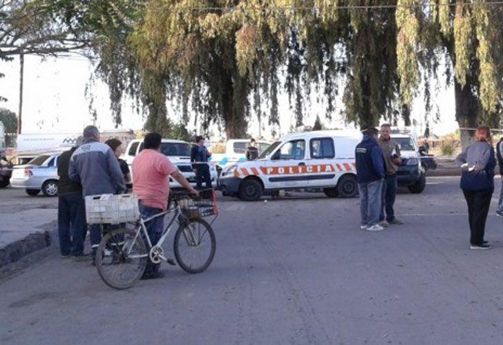 El Ministerio de Seguridad de la provincia informó que el hecho se produjo alrededor de las 5, en Alberdi y Juan B. Justo de esa localidad del departamento Maipú.