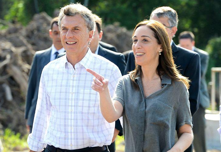 Macri y Vidal anunciaron obras viales.