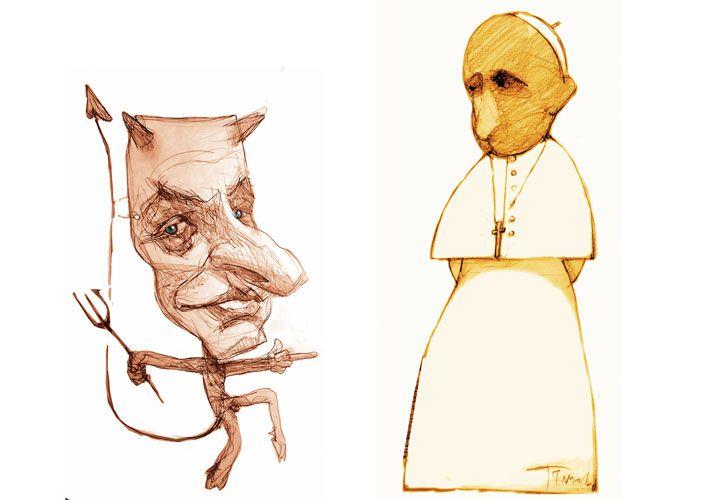 ¡VADE RETRO! Papa Francisco y Mauricio Macri