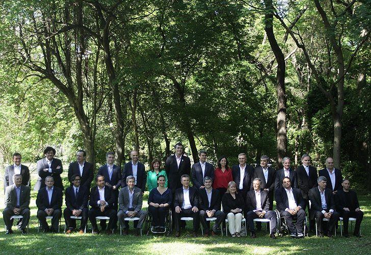 El gabinete de Macri