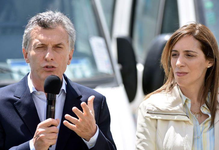 Mauricio Macri entregó ambulancias a la Pronvincia.