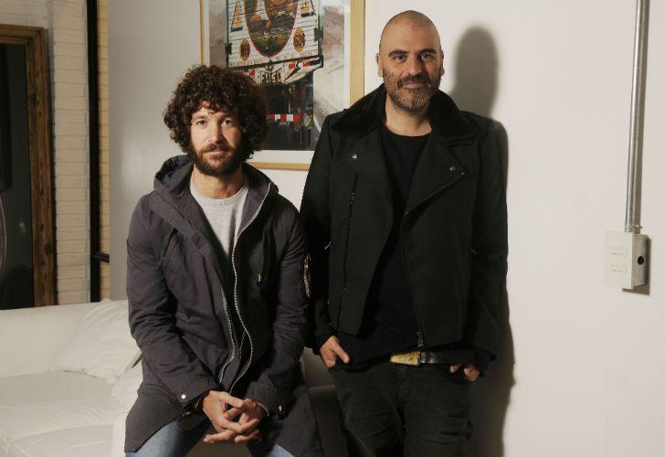 Izq. a der.: Lucho Sanchez Zinny y Carmelo Maselli, directores generales creativos de Carlos y Darío.