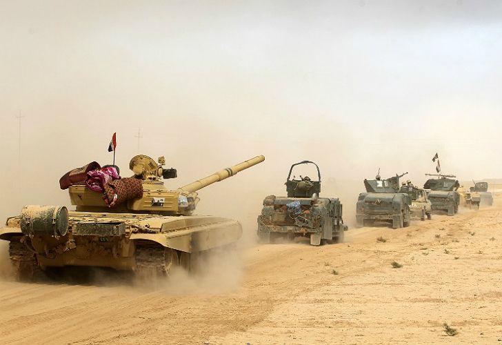Ofensiva final iraquí contra el Estado Islámico en Mosul.