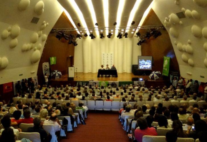 El auditorio de Radio Nacional de Córdoba.