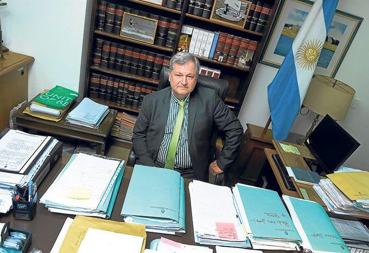 Bajo perfil. El funcionario habló por primera vez de la puja con el presidente del máximo tribunal. La jueza Servini había aludido a presiones por el rol de su hijo.