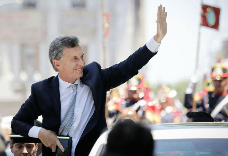 Mauricio Macri se mostró optimista.