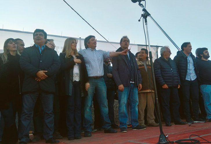 Acto de Máximo Kirchner en La Matanza