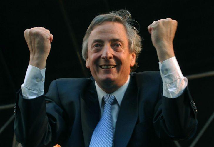 El expresidente Néstor Kirchner.