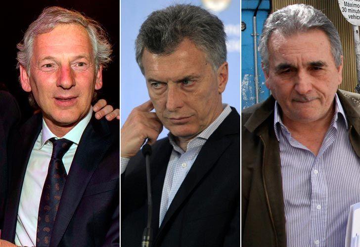 Longobardi, Macri y Schmid