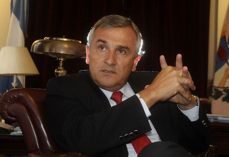 Gerardo Morales, gobernador de Jujuy.