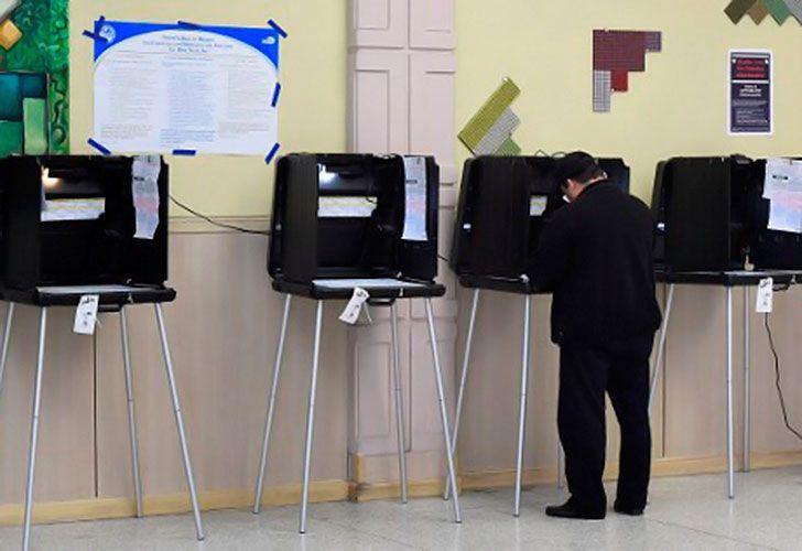 Máquinas para votar en Estados Unidos