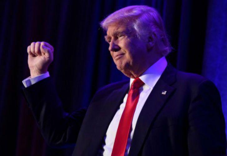 Trump, presidente electo de los Estados Unidos.