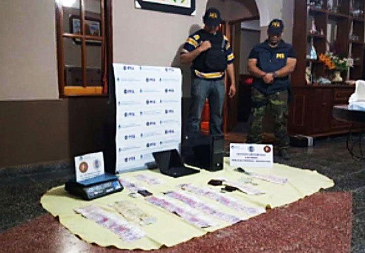 Vargas. Fue detenido en agosto con cocaína y gran cantidad de dinero.