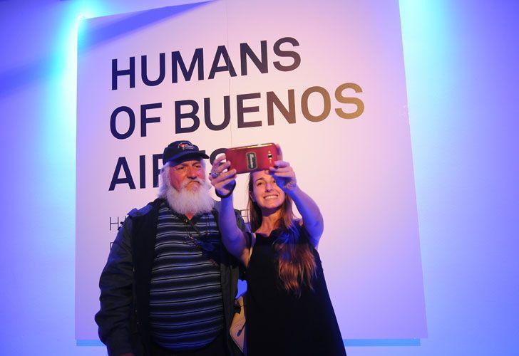 Se presentó el libro Humans of Buenos Aires.