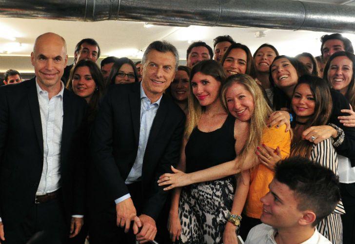 Macri, Larreta y Bullrich en el lanzamiento de un Programa de capacitación para el manejo de herramientas de publicidad digital