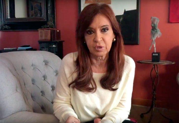 Cristina Fernández de Kirchner en Río Gallegos