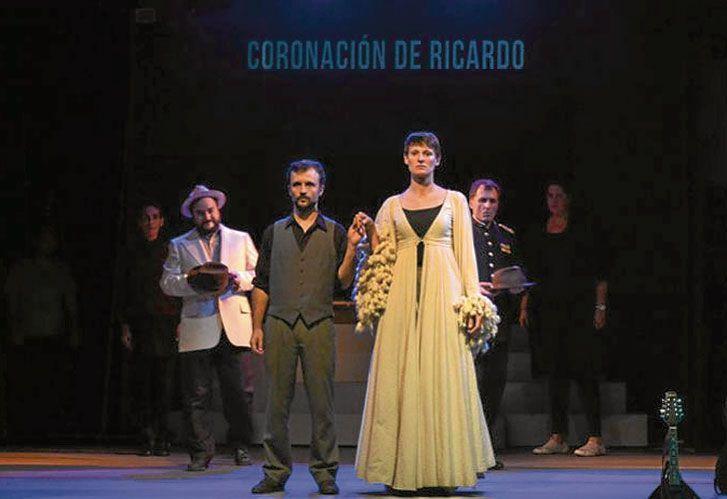 Complejo Teatral. Jorge Telerman, a cargo del homenaje a Shakespeare. Juan Gil Navarro actúa en la carpa Alfredo Alcón. Romeo y Julieta y Ricardo III.