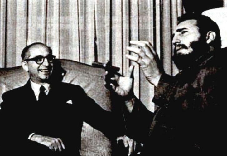En mayo de 1959, el entonces presidente Arturo Frondizi recibió a Fidel Castro, cuatro meses después de la revolución cubana.