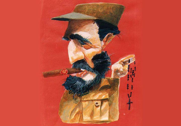 COMANDANTE, Fidel Castro.