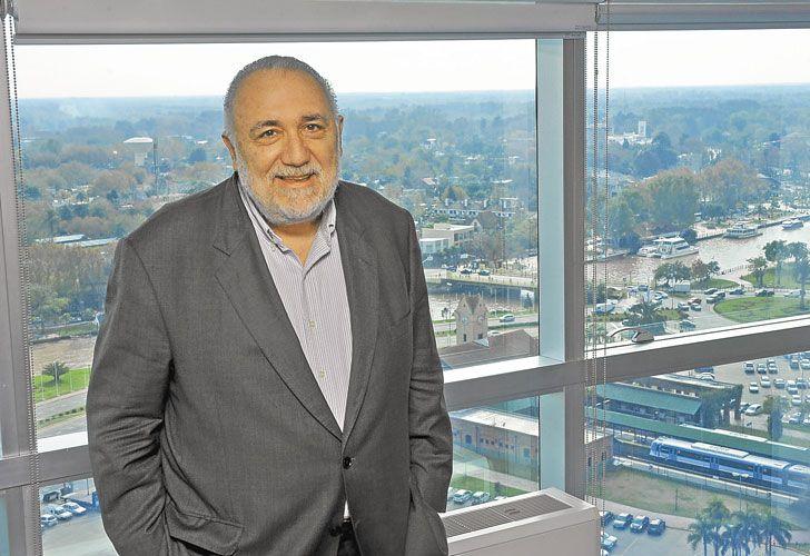 De Miami a Tigre. Es el principal asesor del Frente Renovador.