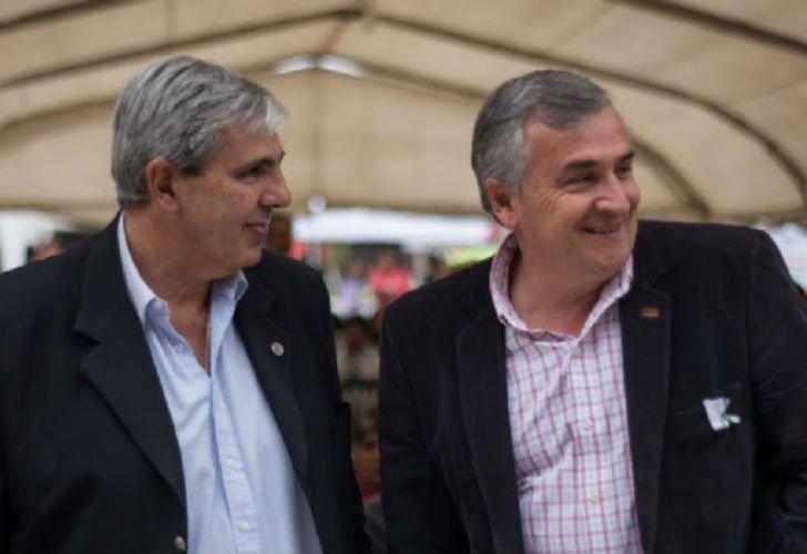 Carlos Haquim y Gerardo Morales