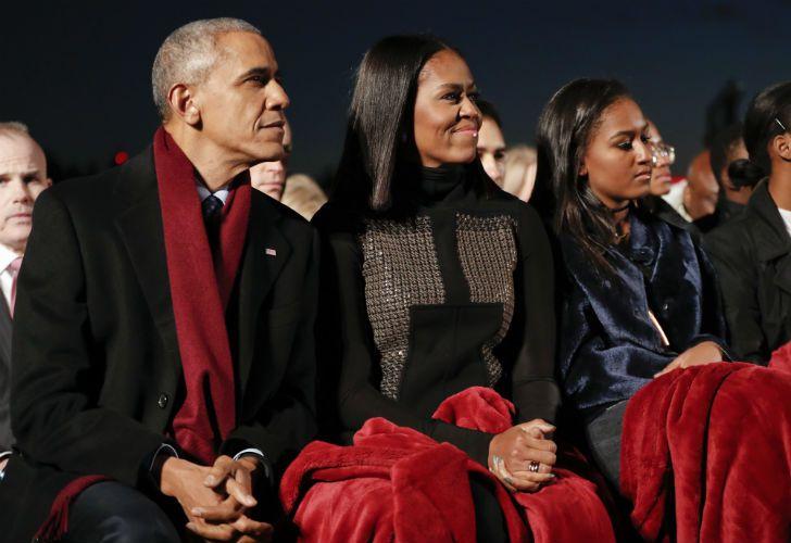 Los Obama pasan las últimas navidades en la Casa Blanca tras ocho años.