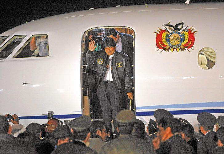 """Respuestas. El mandatario de Bolivia pidió que se investigue """"todo"""" sobre la compañía aérea."""