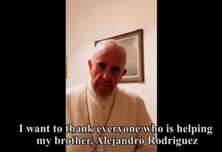 El mensaje del papa Francisco.