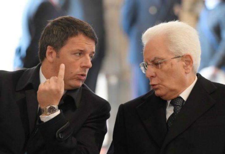 La decisión de posponer la renuncia fue tomada por el presidente de la República, Sergio Mattarella.