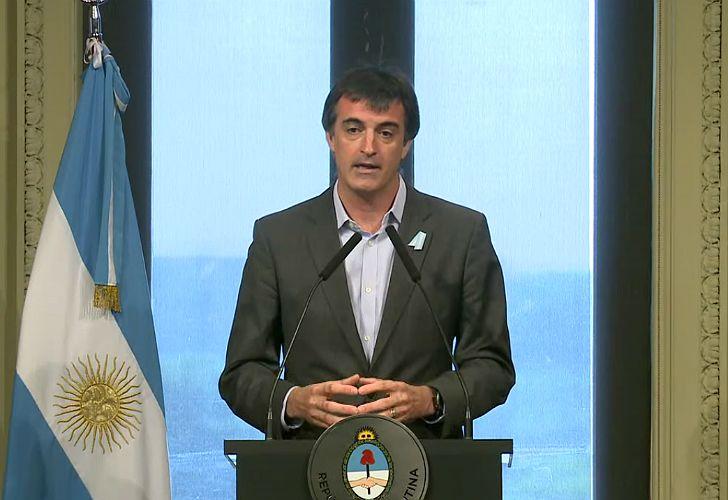 Esteban Bullrich, ministro de Educación.
