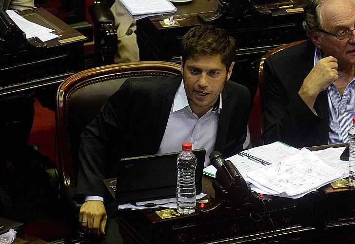 Axel Kicillof, diputado nacional.