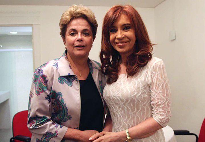 """encuentro. Dilma, Lula y Cristina Kirchner pidieron por la libertad de la dirigente social Milagro Sala. Cuestionaron a la """"derecha"""","""