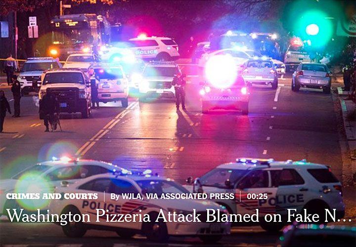 LA pizzeria pedofila conmovió a Washington por la denuncia en redes sociales, que terminó a los tiros.
